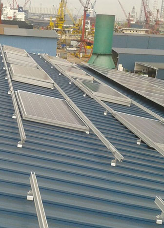First Solar Leasing project for the Offshore and Marine Sector in SG.