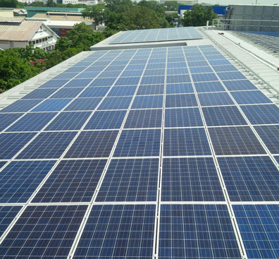 First Solar Powered Worker's Dormitory in SG.