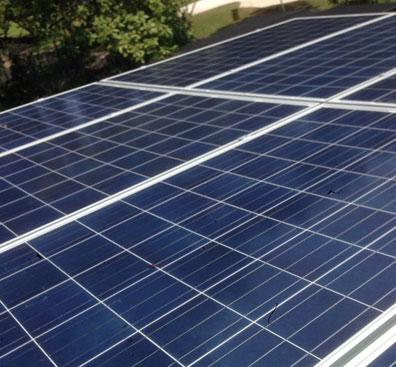 Singapore's first solar powered urban farming system