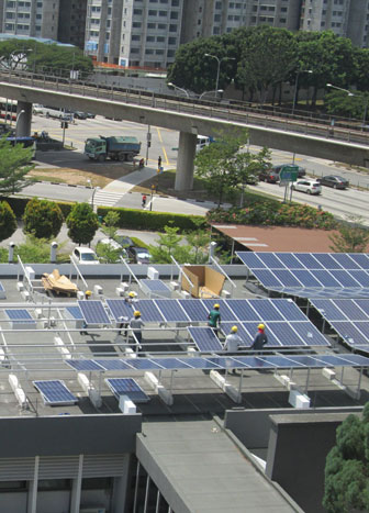 First Solar Leasing Project for the Defence Sector in SG.