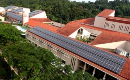 International School Big on Solar Power